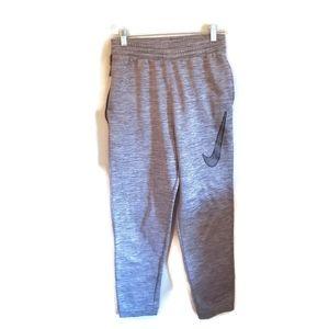 NIKE Dry Fit Grey Athletic Drawstring Pants XL